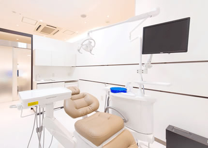 ゆったりの個室診療室